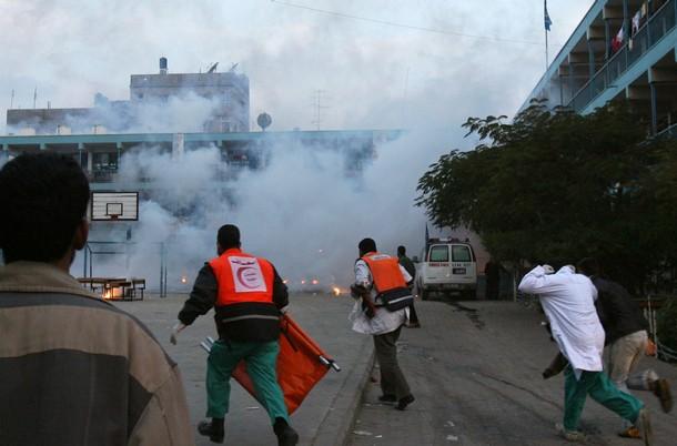 SCOALA UNRWA  IN Beit LAHIA, Gaza, Palestina