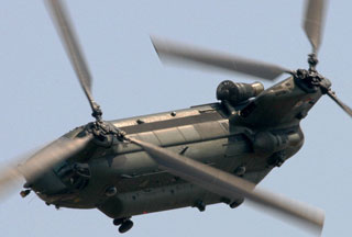Elicopter britanic AirForce Chinook